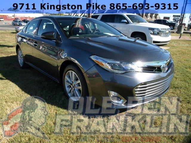 2015 TOYOTA AVALON XLE TOURING LEATHER HEATED SEAT cosmic gray mica boasts 31 highway mpg and 21