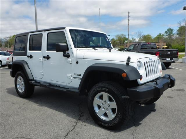 2013 JEEP WRANGLER UNLIMITED SPORT 4X4 4DR SUV unspecified awesome 4 door jeep right color righ