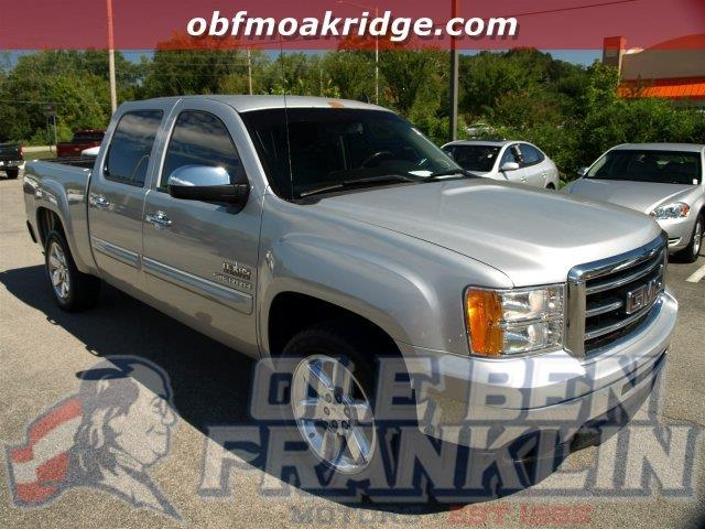 2013 GMC SIERRA 1500 SLE 4X2 4DR CREW CAB 58 FT SB quicksilver metallic delivers 21 highway mpg
