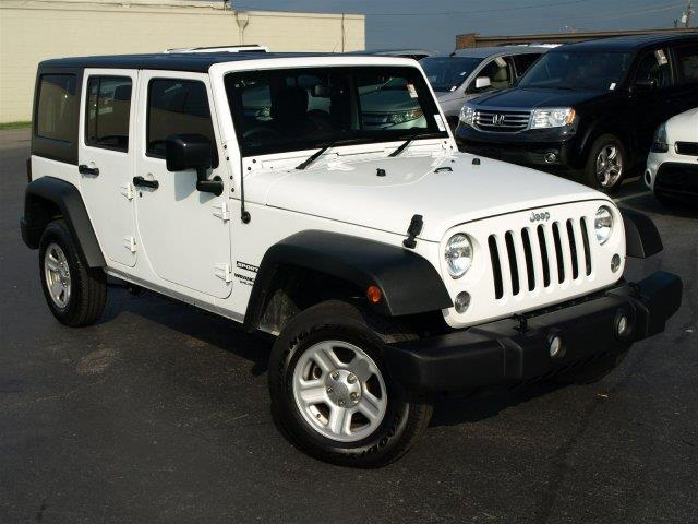 2015 JEEP WRANGLER UNLIMITED SPORT RHD 4X4 4DR SUV unspecified were excited to offer this reliab