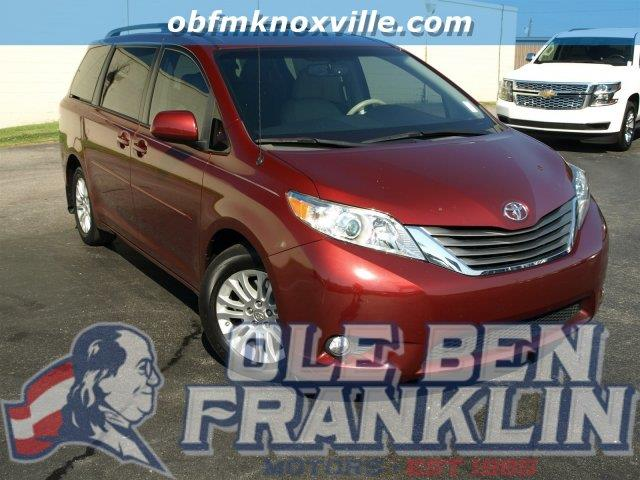 2013 TOYOTA SIENNA XLE AAS salsa red pearl scores 25 highway mpg and 18 city mpg this toyota sie