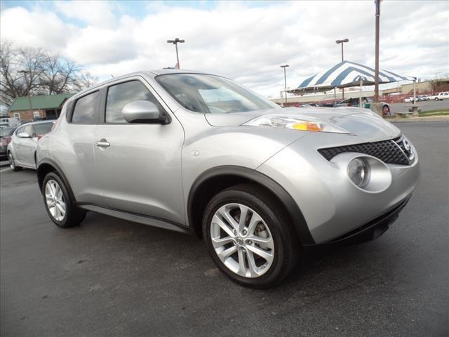2011 NISSAN JUKE SL 4DR CROSSOVER CVT silver navigationpower sunroofcrumple zones front and rea