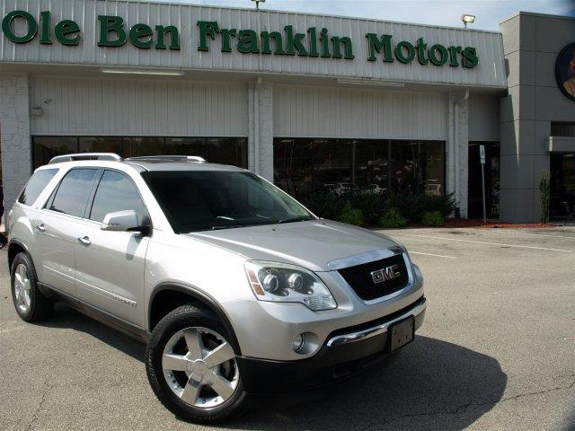 2008 GMC ACADIA SLT-2 4DR SUV unspecified scores 24 highway mpg and 16 city mpg this gmc acadia