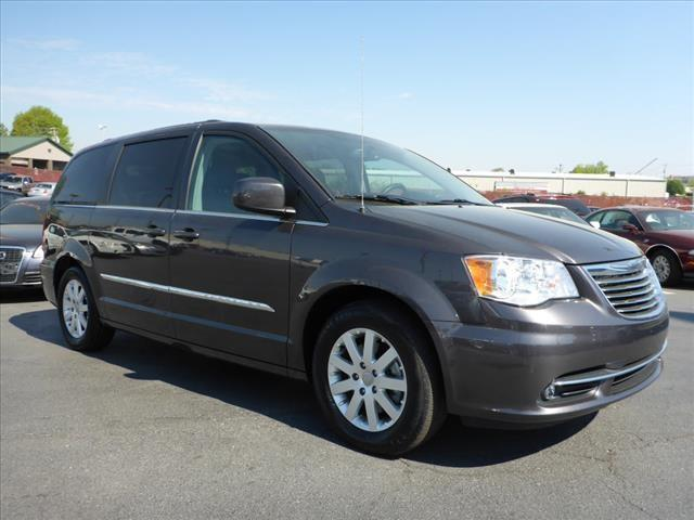 2015 CHRYSLER TOWN AND COUNTRY TOURING 4DR MINI VAN gray multi-function displaystability control