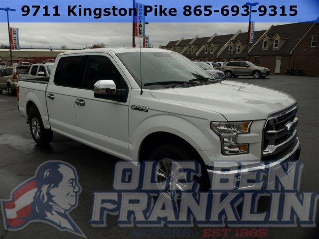 2015 FORD F-150 XLT white scores 22 highway mpg and 15 city mpg this ford f-150 boasts a regular