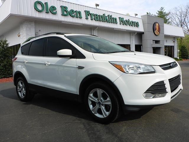 2013 FORD ESCAPE SE 4DR SUV white emergency braking assiststeering wheel mounted controls voice