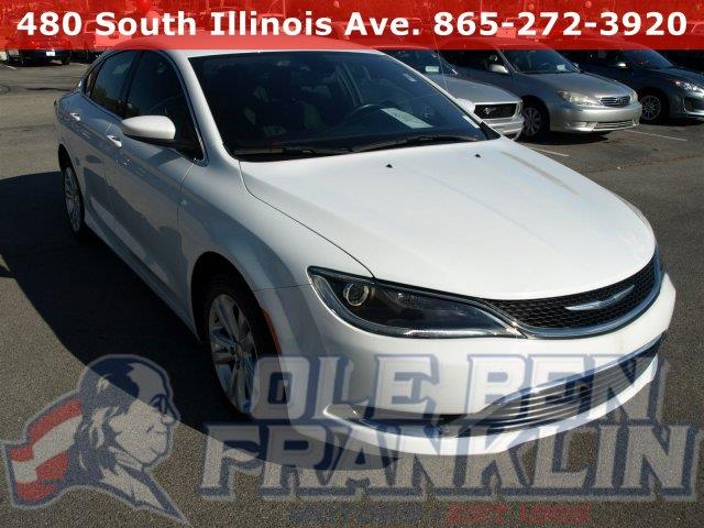 2015 CHRYSLER 200 LIMITED 4DR SEDAN bright white clearcoat boasts 36 highway mpg and 23 city mpg