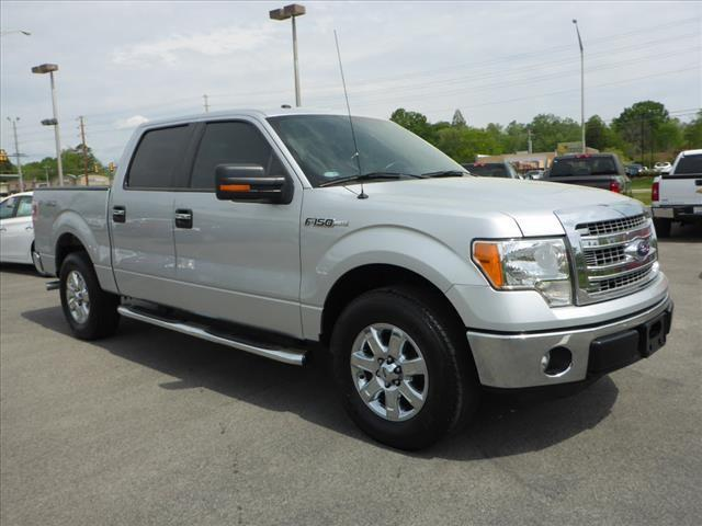 2013 FORD F-150 XLT 4X2 4DR SUPERCREW STYLESIDE silver ford tough silver alloy wheel