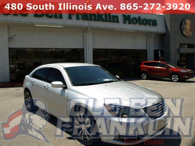 2012 CHRYSLER 200 TOURING 4DR SEDAN silver boasts 29 highway mpg and 19 city mpg this chrysler 2
