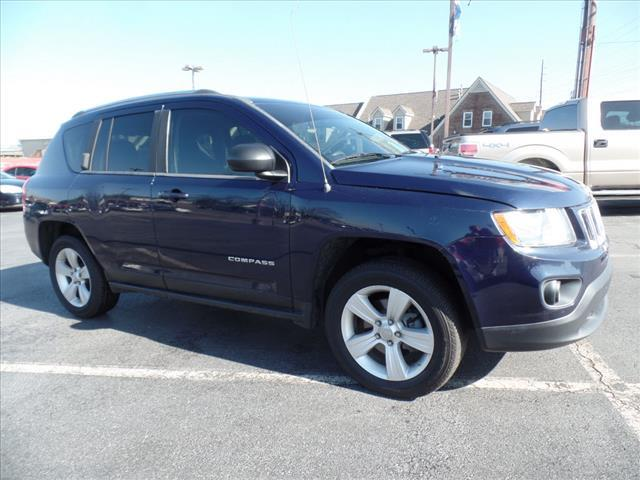 2012 JEEP COMPASS SPORT 4X4 4DR SUV dk blue roll stability controlstability controlabs brakes