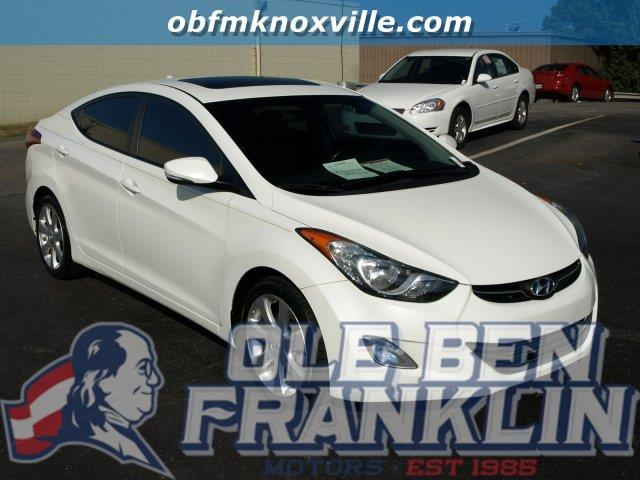 2013 HYUNDAI ELANTRA LIMITED LEATHER HEATED SEATS SU white scores 38 highway mpg and 28 city mpg