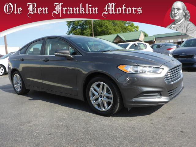 2015 FORD FUSION SE 4DR SEDAN dk gray impact sensor post-collision safety systemsecurity anti-t