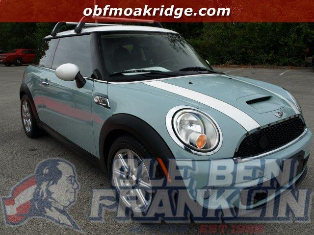 2012 MINI COOPER HARDTOP S 2DR HATCHBACK ice blue delivers 35 highway mpg and 27 city mpg this m
