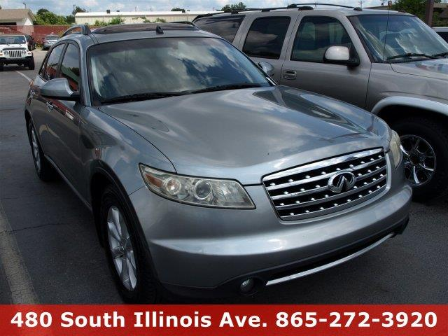 2006 INFINITI FX35 BASE 4DR SUV silver boasts 23 highway mpg and 17 city mpg this infiniti fx35