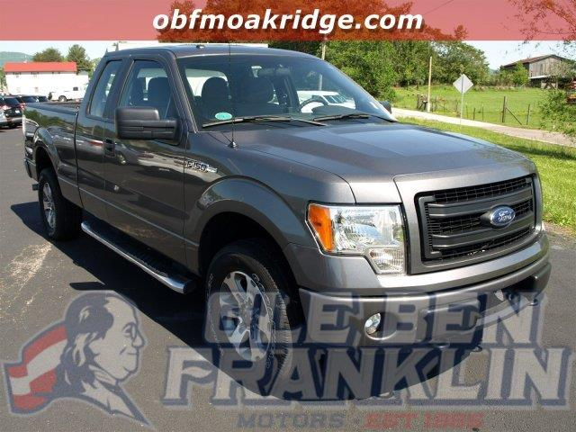2013 FORD F-150 STX 4X4 4DR SUPERCAB STYLESIDE 6 sterling gray metallic this ford f-150 has a dep