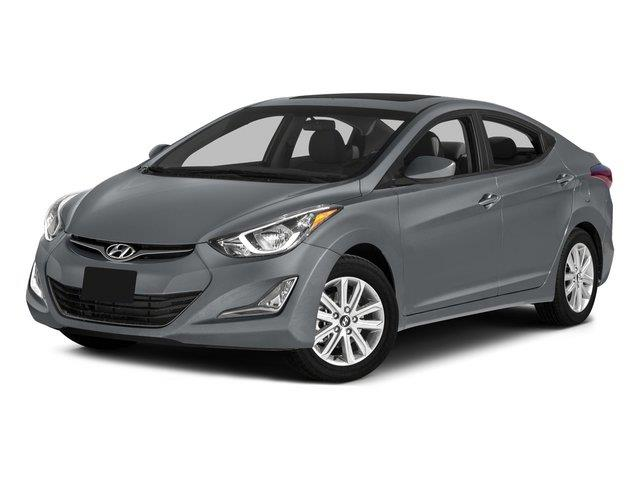 2015 HYUNDAI ELANTRA LIMITED 4DR SEDAN shale gray metallic delivers 37 highway mpg and 27 city mp