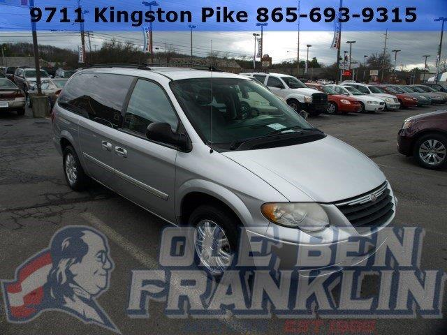 2005 CHRYSLER TOWN AND COUNTRY TOURING 4DR EXTENDED MINI VAN silver boasts 25 highway mpg and 18