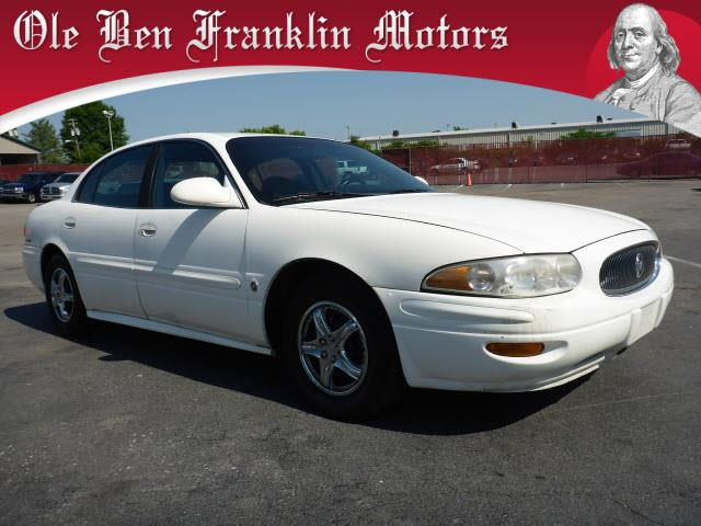 2001 BUICK LESABRE CUSTOM 4DR SEDAN white security anti-theft alarm systemabs brakes 4-wheela