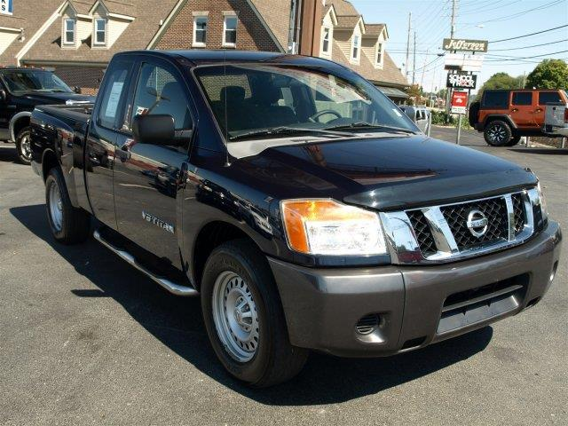 2008 NISSAN TITAN XE majestic blue metallic boasts 17 highway mpg and 12 city mpg this nissan ti