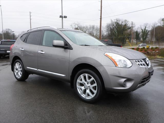 2012 NISSAN ROGUE SV WSL PACKAGE AWD 4DR CROSSOVE lt gray navigationpower sunroofcrumple zone