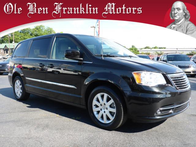 2014 CHRYSLER TOWN AND COUNTRY TOURING 4DR MINI VAN black multi-function displaystability contro