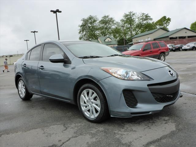2012 MAZDA MAZDA3 I TOURING 4DR SEDAN 6A gray power sunroofmulti-function displaystability cont