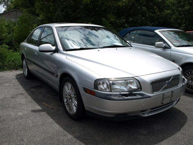 2002 VOLVO S80 29 4DR SEDAN silver metallic only 162142 miles boasts 25 highway mpg and 19 cit