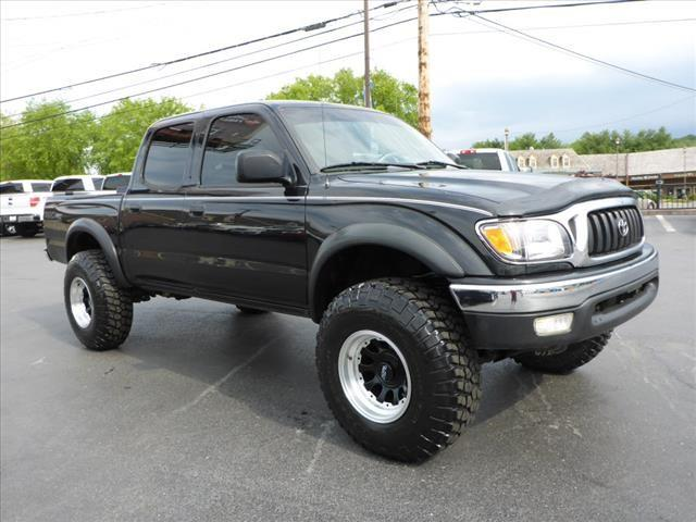 2004 TOYOTA TACOMA PRERUNNER 4DR DOUBLE CAB RWD SB black abs brakes 4-wheelairbags - front - d