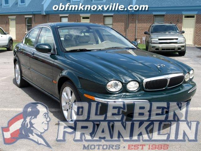 2003 JAGUAR X-TYPE 30 AWD 4DR SEDAN green only 150672 miles delivers 25 highway mpg and 18 cit