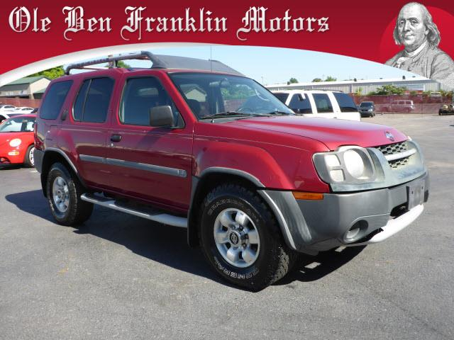2002 NISSAN XTERRA XE 2WD 4DR SUV dk red abs brakes 4-wheelairbags - front - dualpower brake
