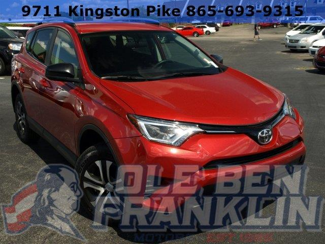 2016 TOYOTA RAV4 LE AWD 4DR SUV red only 9032 miles boasts 29 highway mpg and 22 city mpg this