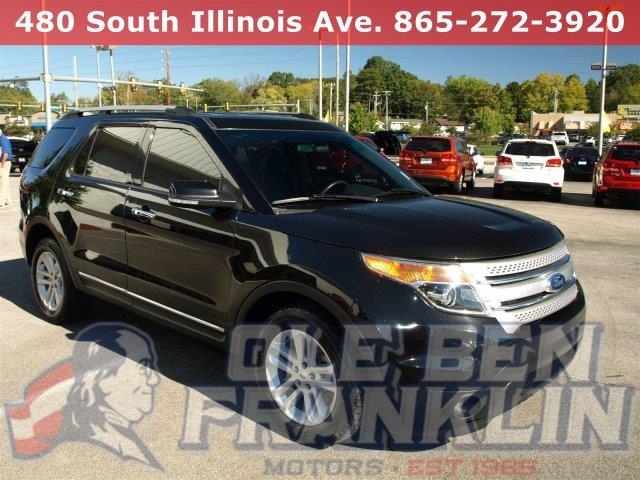 2014 FORD EXPLORER XLT 4DR SUV black boasts 24 highway mpg and 17 city mpg this ford explorer bo