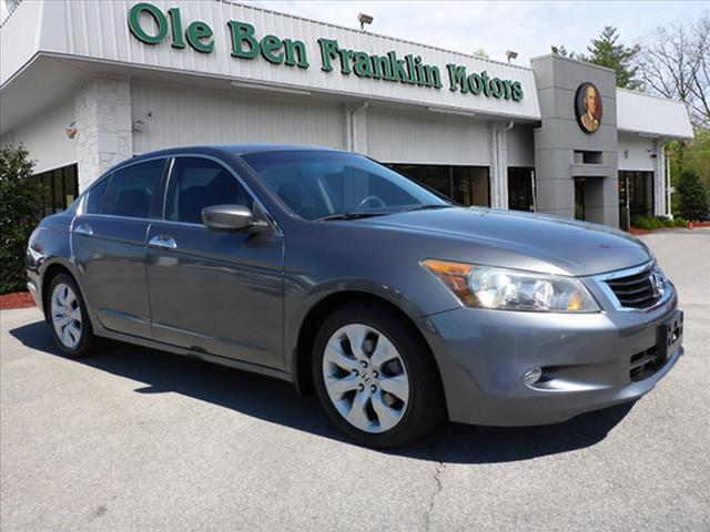 2009 HONDA ACCORD EX-L V6 WNAVI 4DR SEDAN 5A WNA dk gray nice honda quality always on th