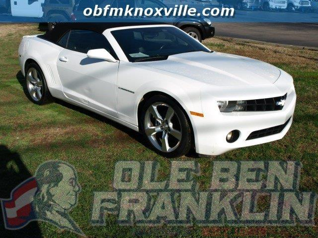 2012 CHEVROLET CAMARO LT 2DR CONVERTIBLE W2LT white delivers 29 highway mpg and 18 city mpg thi