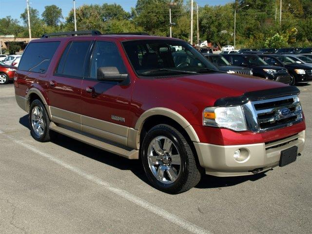 2007 FORD EXPEDITION EL EDDIE BAUER 4DR SUV 4X4 redfire metallic delivers 17 highway mpg and 14 c