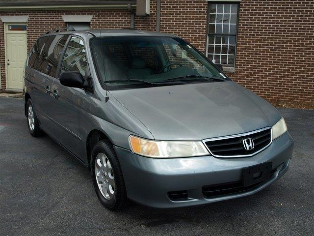 2002 HONDA ODYSSEY EX-L WDVD 4DR MINI VAN AND LEAT unspecified boasts 25 highway mpg and 18 city