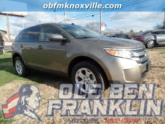 2013 FORD EDGE SEL 4DR SUV dk gray parking sensors rearimpact sensor post-collision safety syst