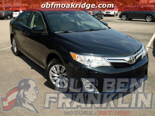 2007 TOYOTA CAMRY CE 4DR SEDAN 24L I4 5A black only 106183 miles scores 34 highway mpg and 2