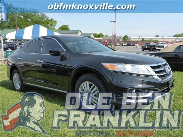 2013 HONDA CROSSTOUR EX 4DR CROSSOVER crystal black pearl delivers 31 highway mpg and 22 city mpg