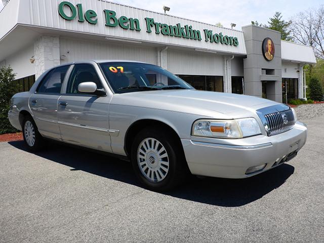 2007 MERCURY GRAND MARQUIS LS 4DR SEDAN silver airbags - front - dualair conditioning - front -