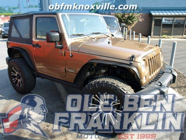 2015 JEEP WRANGLER SPORT 4X4 2DR SUV copper brown pearlcoat boasts 21 highway mpg and 17 city mpg
