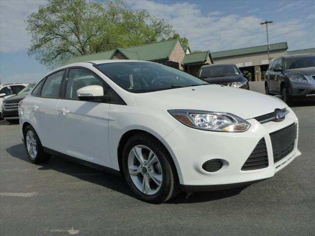 2014 FORD FOCUS SE 4DR SEDAN white impact sensor post-collision safety systemstability control e