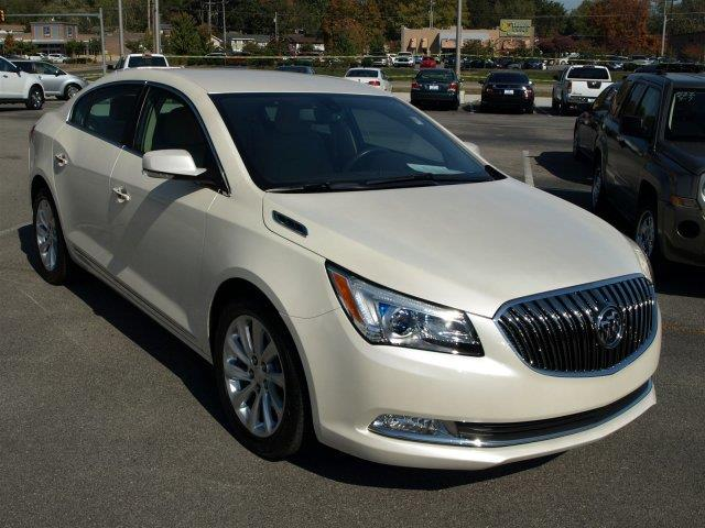 2014 BUICK LACROSSE LEATHER 4DR SEDAN white boasts 28 highway mpg and 18 city mpg this buick lac