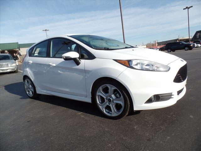 2015 FORD FIESTA ST 4DR HATCHBACK white impact sensor post-collision safety systemmulti-function