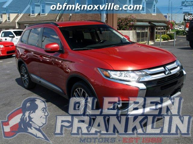 2016 MITSUBISHI OUTLANDER SE 4DR SUV rally red metallic scores 31 highway mpg and 25 city mpg th