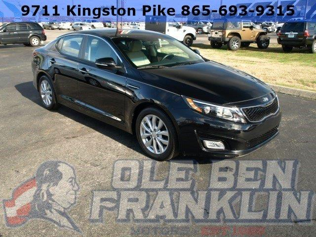 2015 KIA OPTIMA EX 4DR SEDAN black only 7274 miles boasts 34 highway mpg and 23 city mpg this