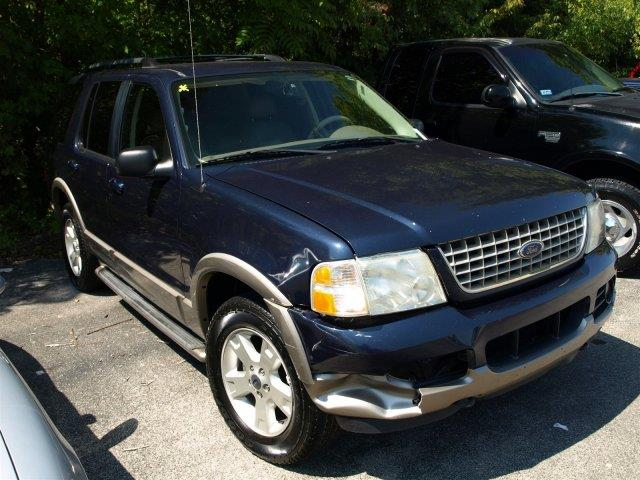2003 FORD EXPLORER EDDIE BAUER 4WD 4DR SUV blue only 155410 miles delivers 19 highway mpg and 1