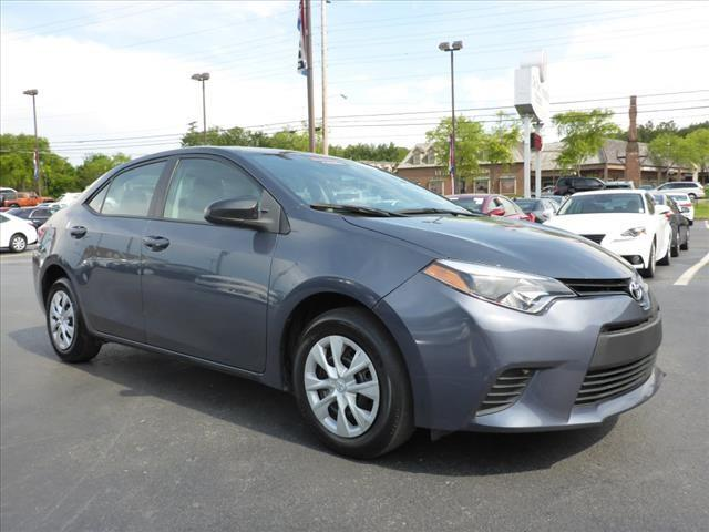 2014 TOYOTA COROLLA L 4DR SEDAN 4A gray stability control electronicmulti-function displayphone