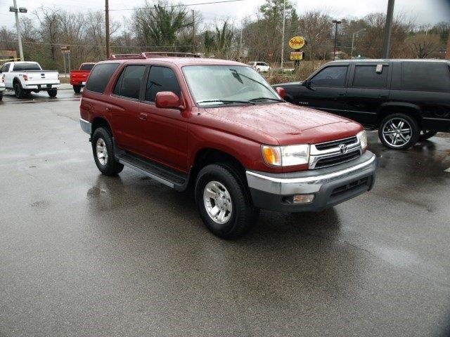 2001 TOYOTA 4RUNNER SR5 2WD 4DR SUV maroon scores 20 highway mpg and 17 city mpg this toyota 4ru