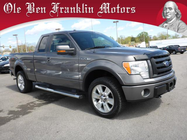 2010 FORD F-150 FX4 4X4 4DR SUPERCAB STYLESIDE 6 dk gray ford 4wd  extra cab  leather  he